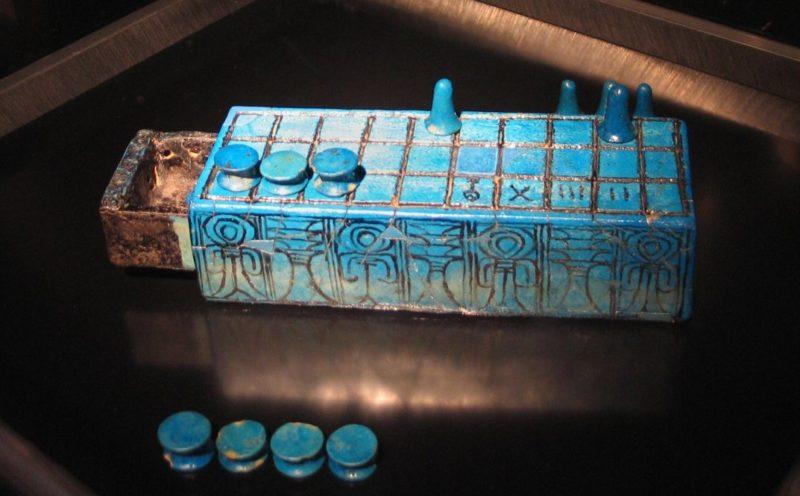Senet Game inscribed for Amenhotep III
