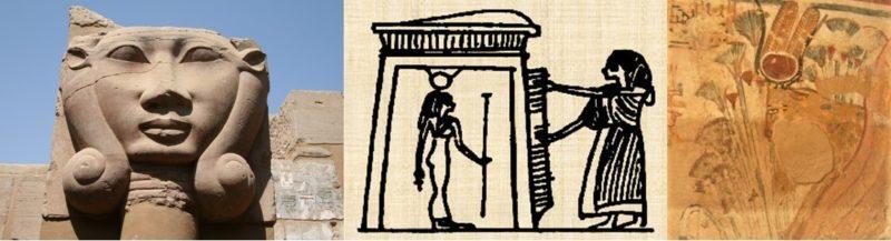 Hathor. Three ways of mentoring the dead